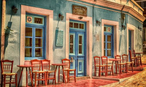 Cafe on the street
