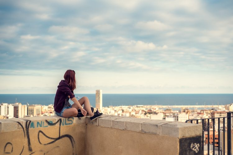 View on a Alicante Spain